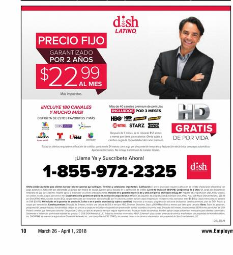 DISH Network LLC campaigns first seen Mar 2018.